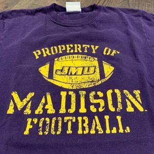 JMU property of Madison Football T shirt